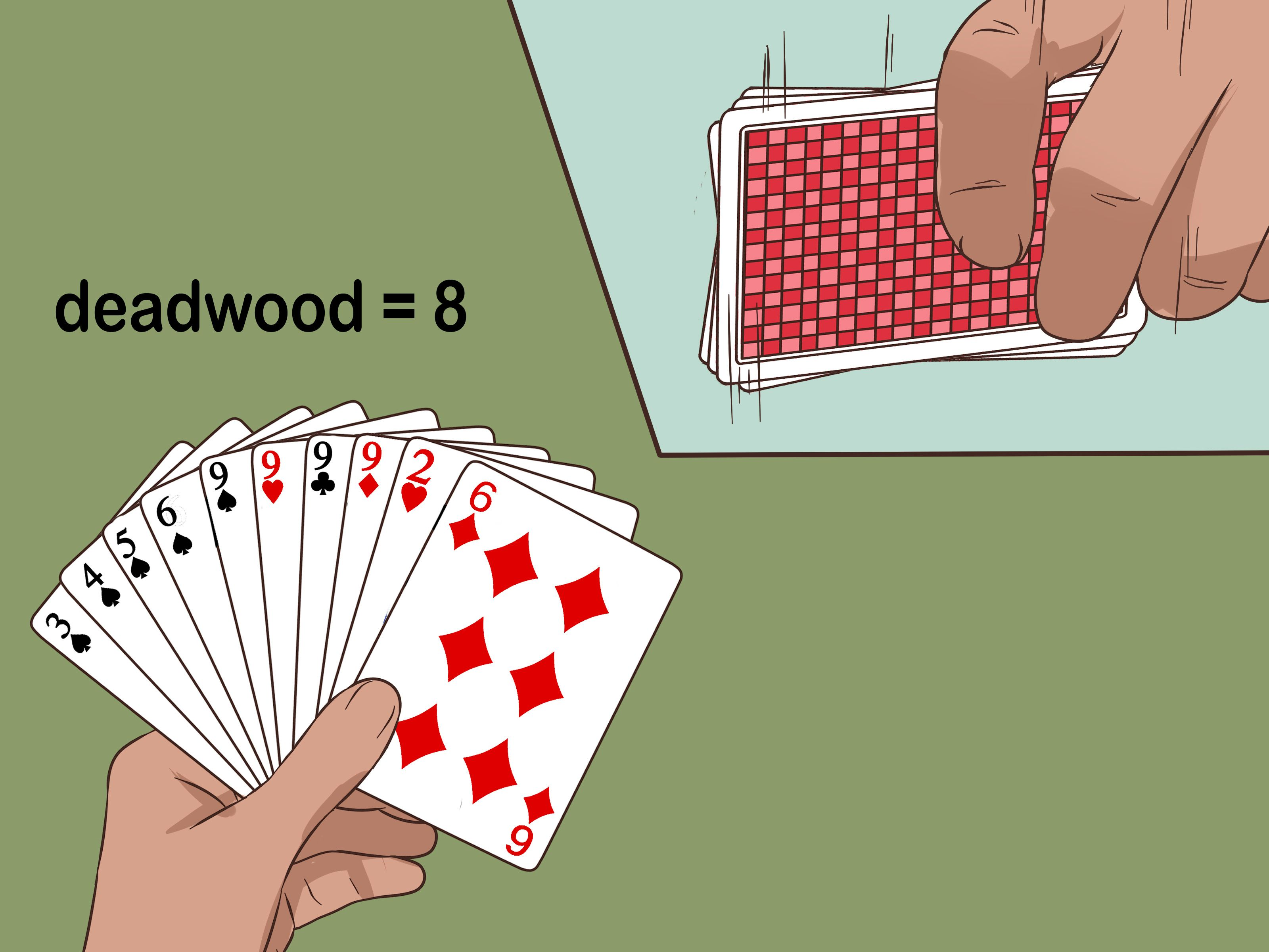 How To Play Gin Rummy Gin Rummy Is A Two Person Card Game In Which You Try To Get All Of Your Cards Into Matching Sets Or Ru Gin Rummy Rummy How