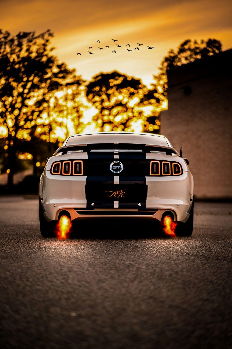 Extreme Power Gt Welovewallpixel Wallpixel Carlovers Awesome Portrait Vision Ford Mustang Gt Car Iphone Wallpaper Mustang Gt