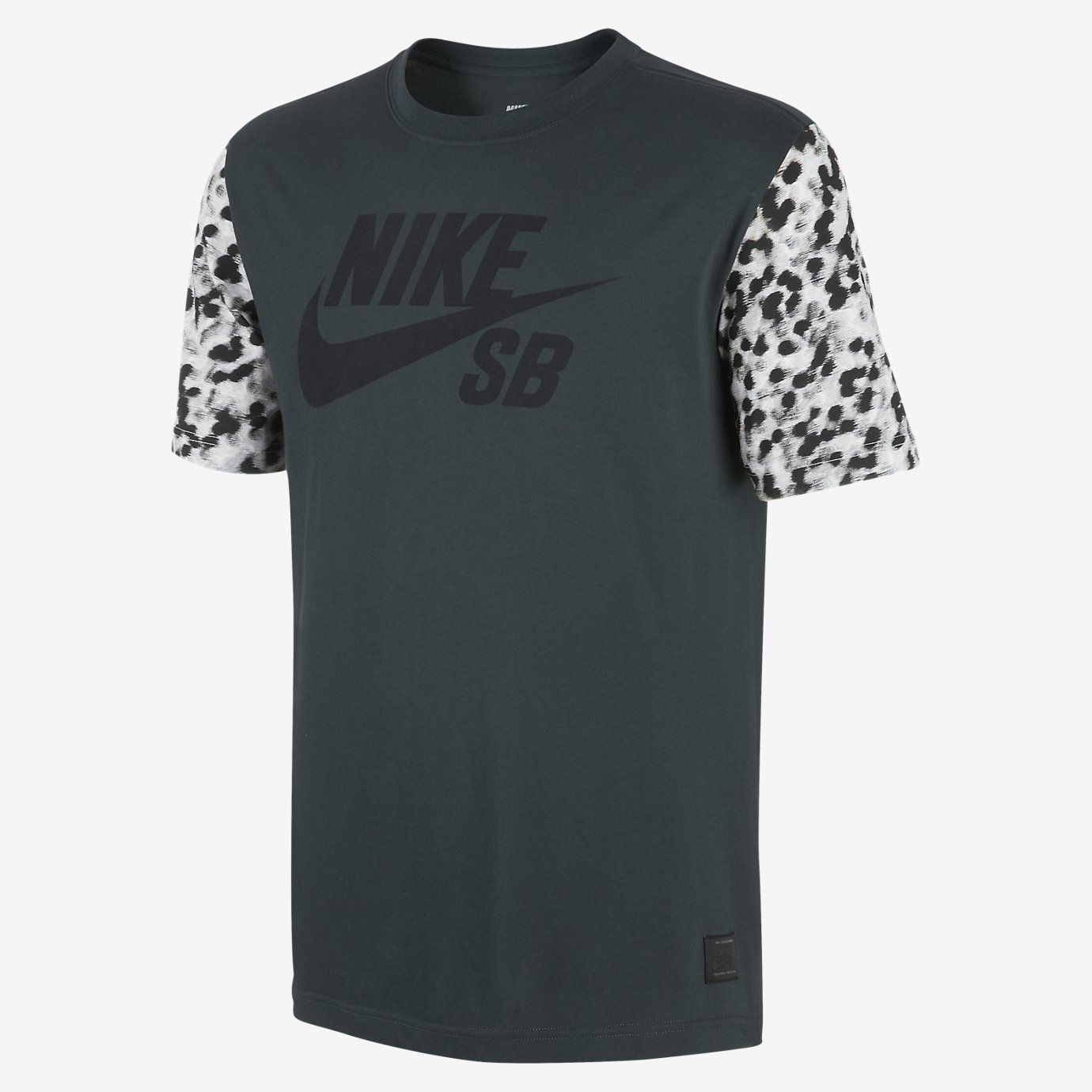 nike roshe dark grey camo shirt