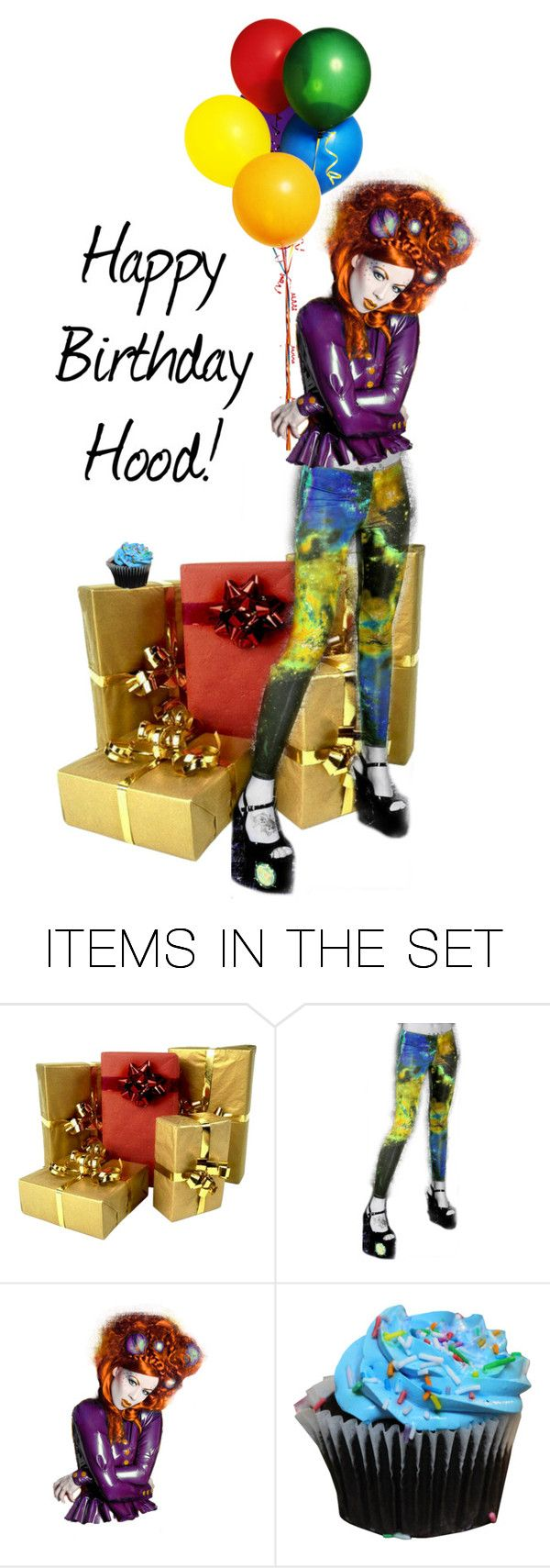 """""""Jason's B-Day"""" by dress-n-dysfunktion ❤ liked on Polyvore featuring art"""