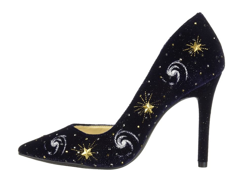 c070fea004e Jessica Simpson Lucina 4. Jessica Simpson Lucina 4 Women s Shoes Celestial  Blue Sparkle Velvet