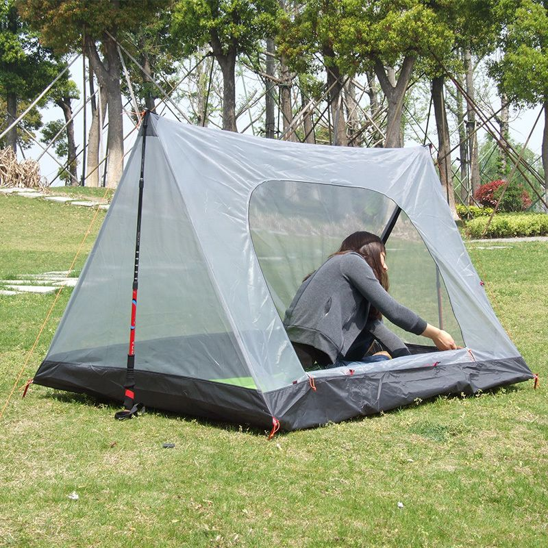 Ultralight mosquito net beach Tent 1-2 people Summer transparent c&ing Tents Breathable gauze tenda & Ultralight mosquito net beach Tent 1-2 people Summer transparent ...