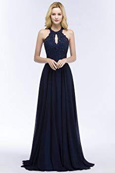 misshow ballkleider lang a linie mit pailletten abendkleider langes elegantes kleid für hochzeit