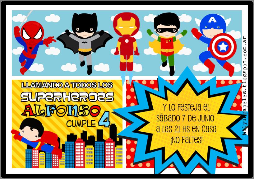 Mil Y Un Papeles Bienvenidos Superhéroes Superheroes