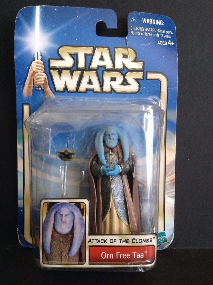 """Star Wars 2002 Attack of the Clones ORN FREE TAA 3.75/"""" Figure #35 Collection 2"""