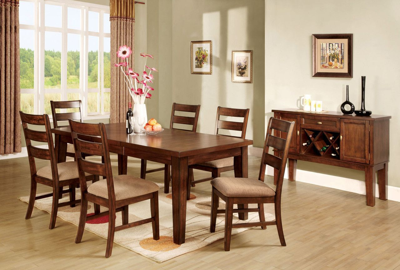 Dining Table With 6 Chairs 7 Pc Set Priscilla I Collection