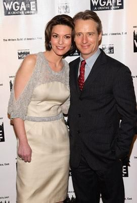 Linus Roache And Alana De La Garza With Images Hottest
