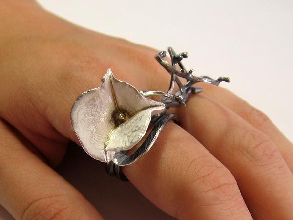 Ring | Michelle Pujol. Bougainvilea ring