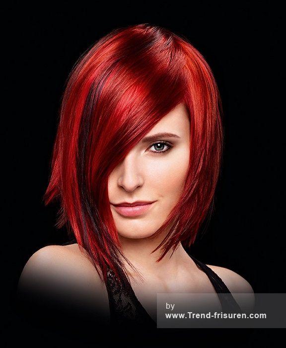 Kurzhaarfrisuren Frauen Rote Haare Damen Frisuren Rote