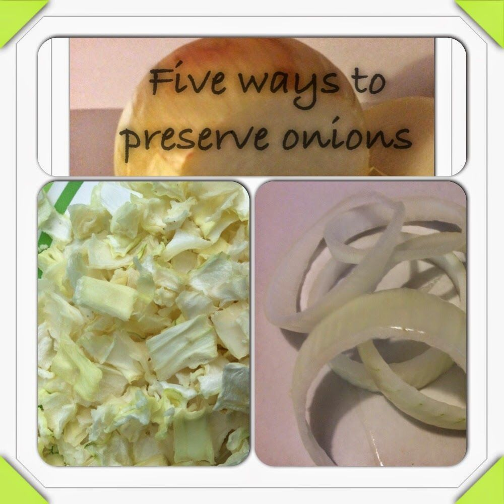 Living at My Farmhouse: 5 Ways to Perserve and Store Onions