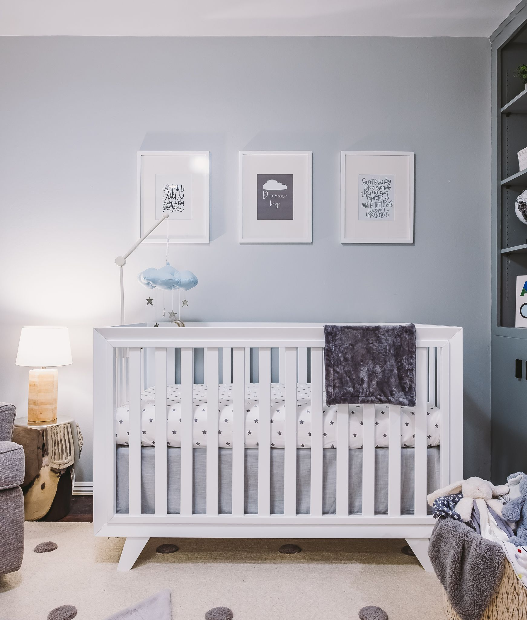 In The Nursery With Jordin Sparks Project Nursery Baby Blue