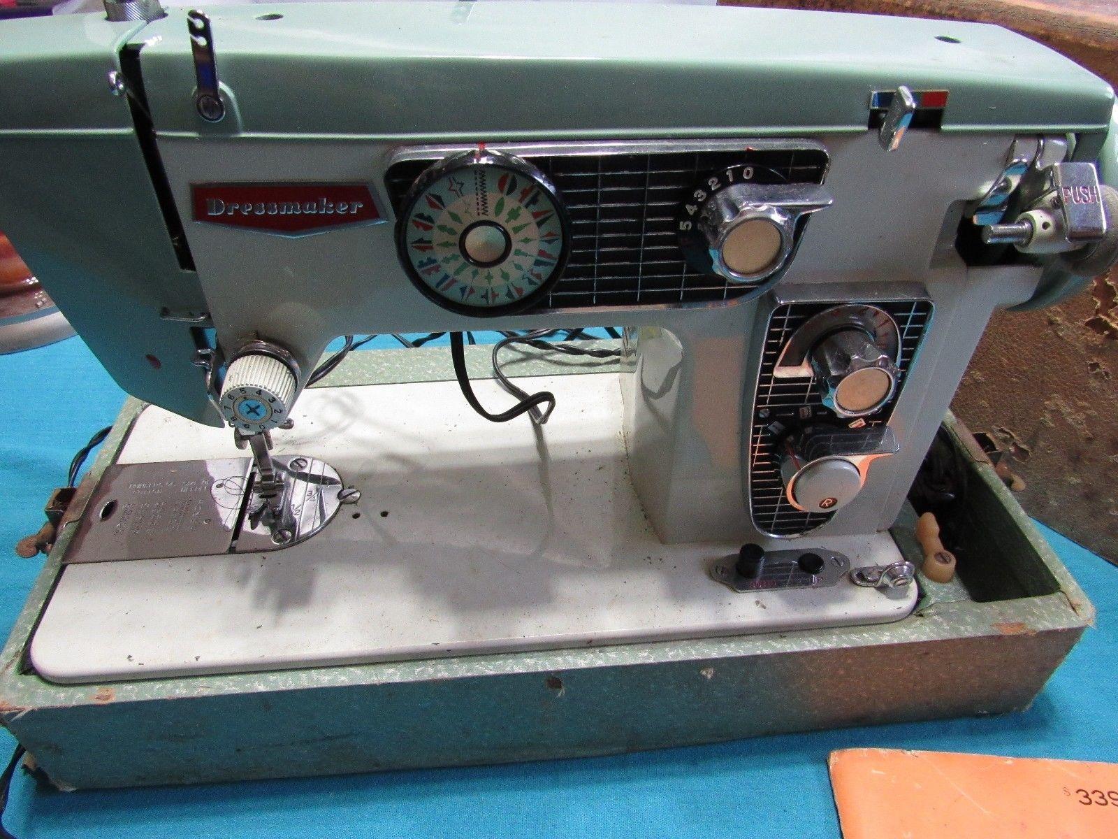 Dressmaker Heavy Duty Sewing Machine (high shank) Model 950 B Embroidery  Upholstery Riccar | eBay