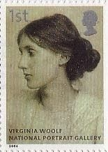 Virginia Woolf (1882 - 1941) Label UK