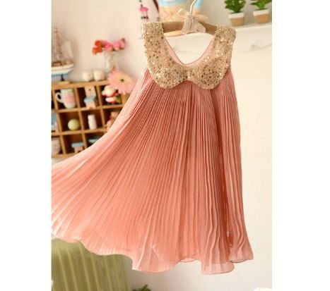 3,4,5,6,7T baby clothes baby girls summer dress WEDDING party ...