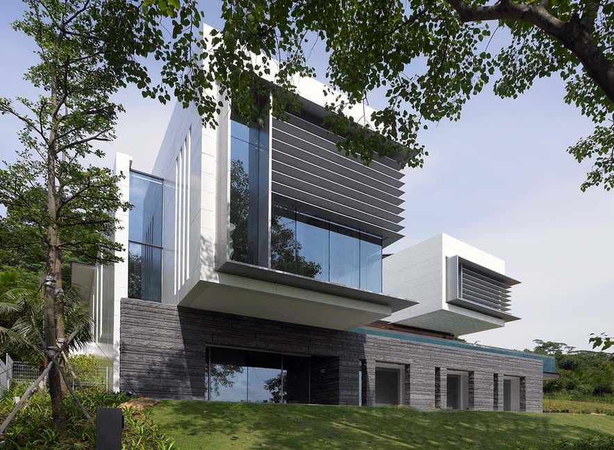 :))) SCDA Architects Inc. Singapore- Lakeshore view