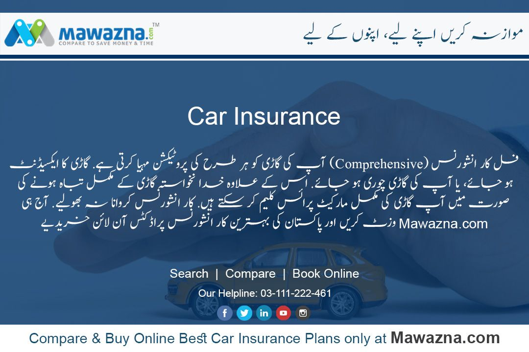 Compare Buy Online Best Car Insurance Plans Offered By Leading