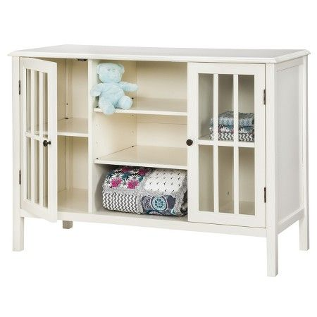 Windham Two Door With Shelves Storage Cabinet   Threshold™