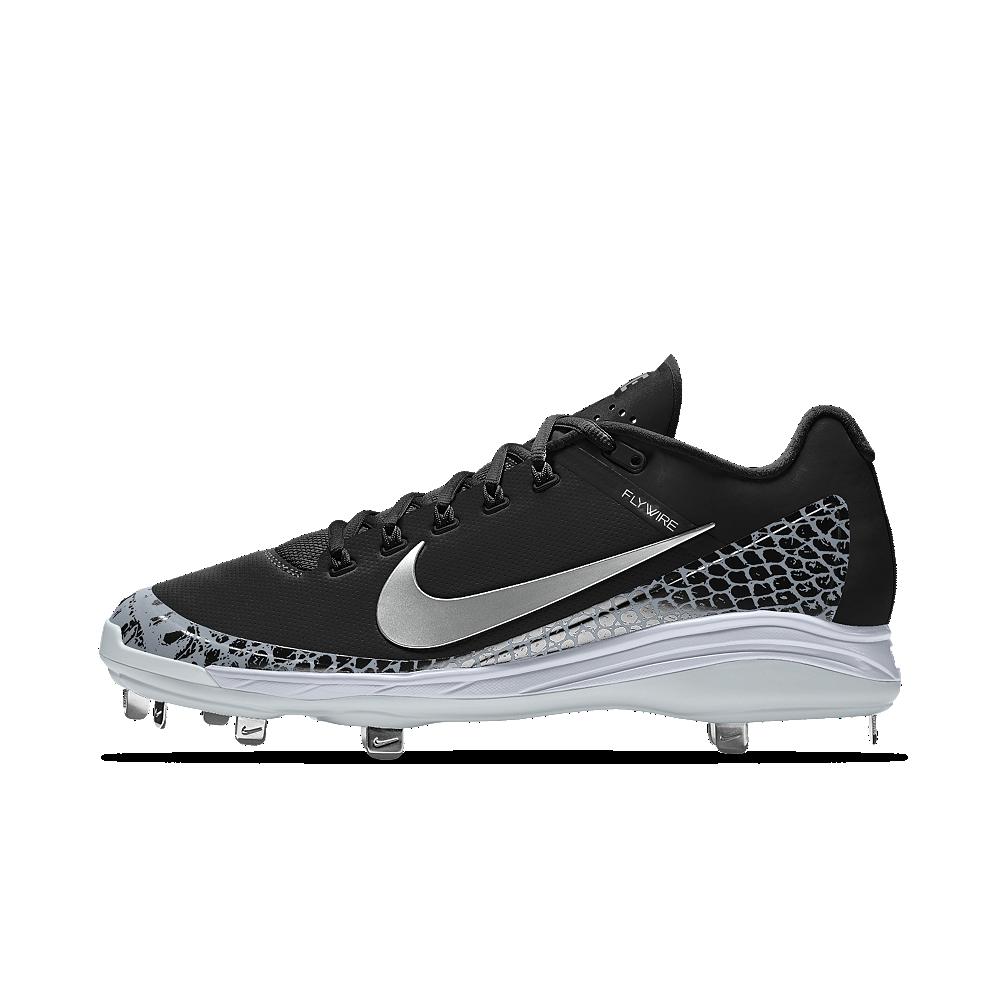 sale retailer 89ff6 c6850 Nike Alpha Air Clipper '17 iD Men's Baseball Cleats Size 4.5 (Black ...