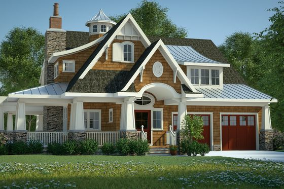 Bungalow craftsman other elevation plan for Houseplans com craftsman