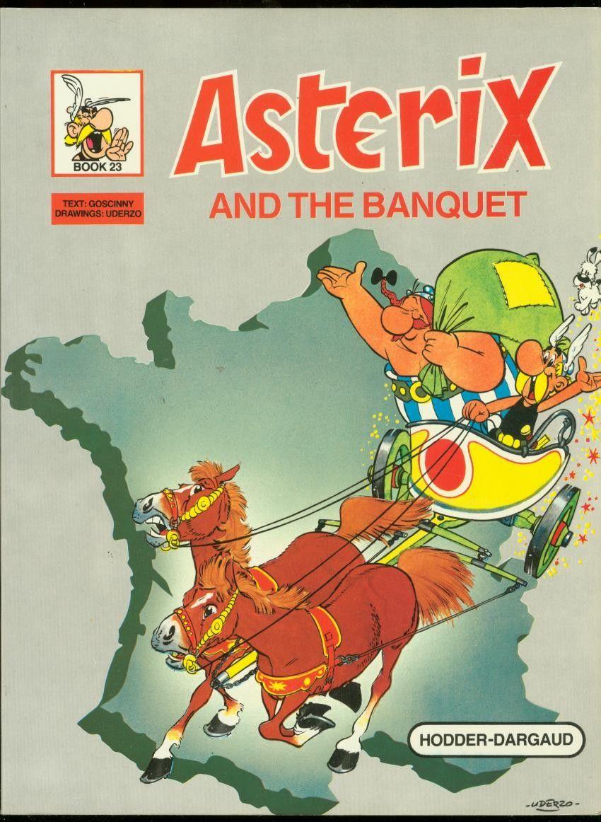Asterix And The Banquet - Comic Hardbacks, Paperbacks, Etc. - COMICS
