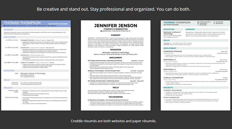 Creddle Craft the perfect resume with just your LinkedIn