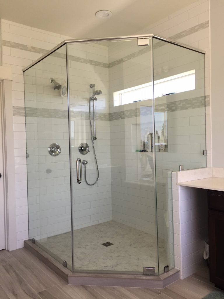 Corner Shower Doors With Images Frameless Shower Doors Neo