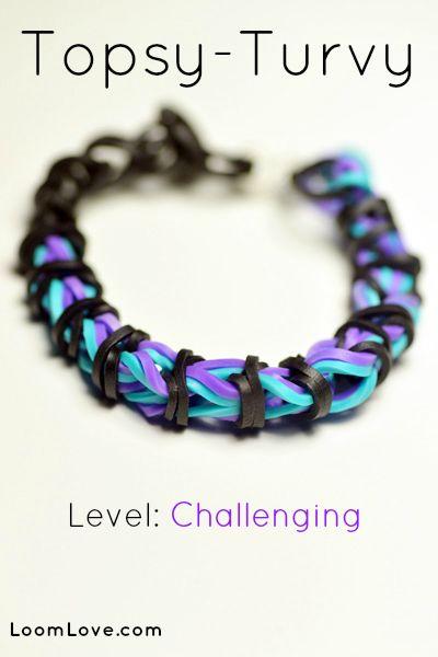 How to Make a Topsy Turvy Bracelet