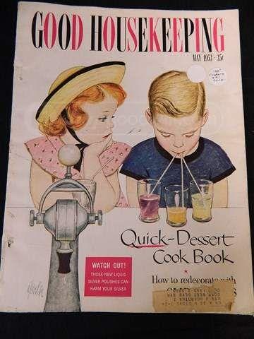shopgoodwill.com: May 1953-Good Housekeeping Magazine: Great Ads ...