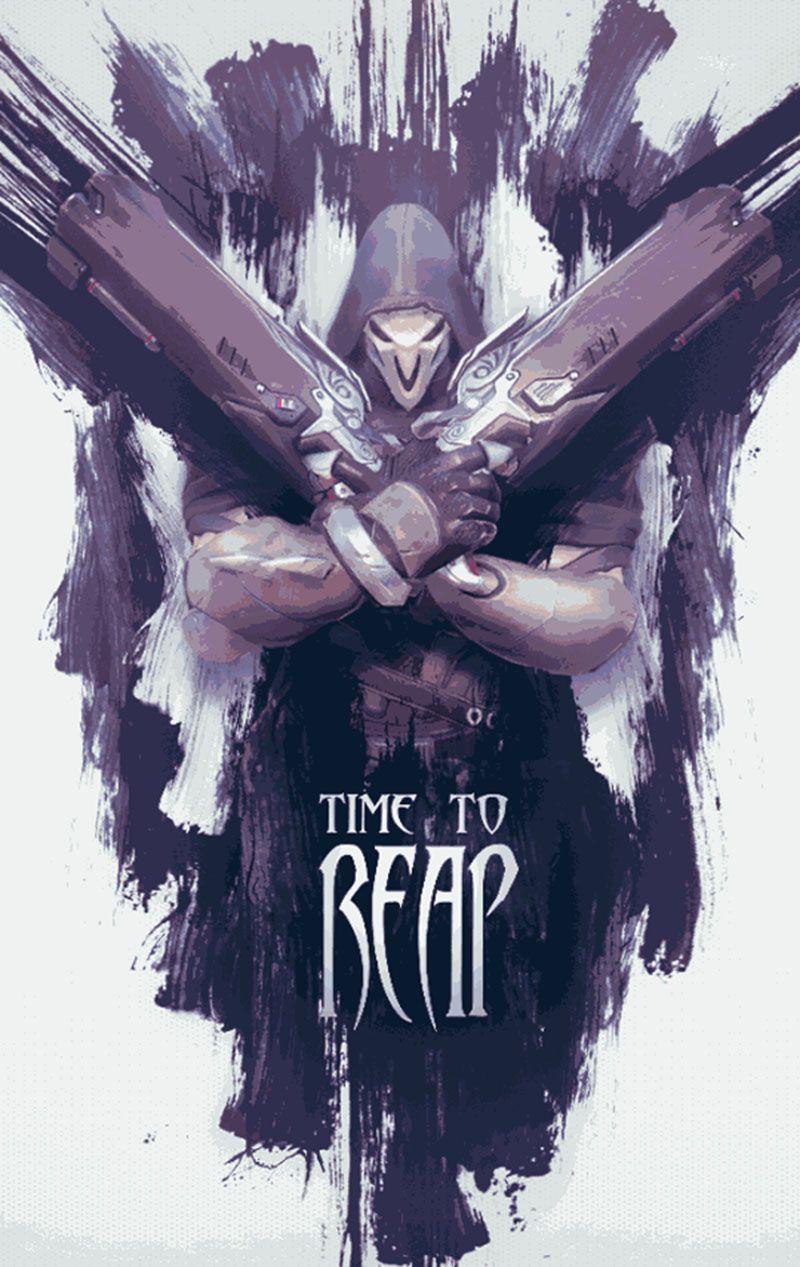 Best Overwatch Reaper Wallpaper HD 2020 (Dengan gambar)