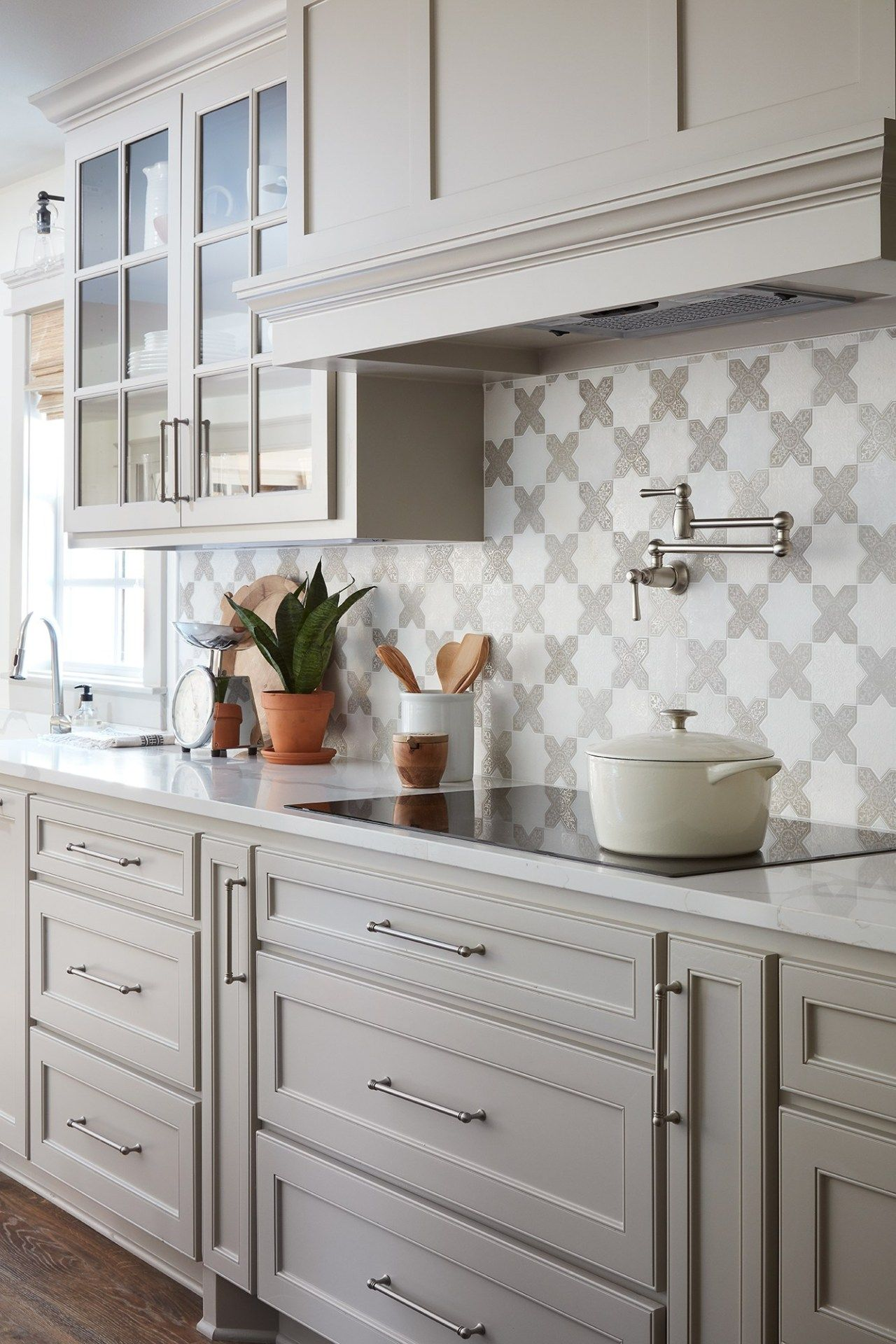 The Copp House from Fixer Upper kitchen decor #greykitcheninterior