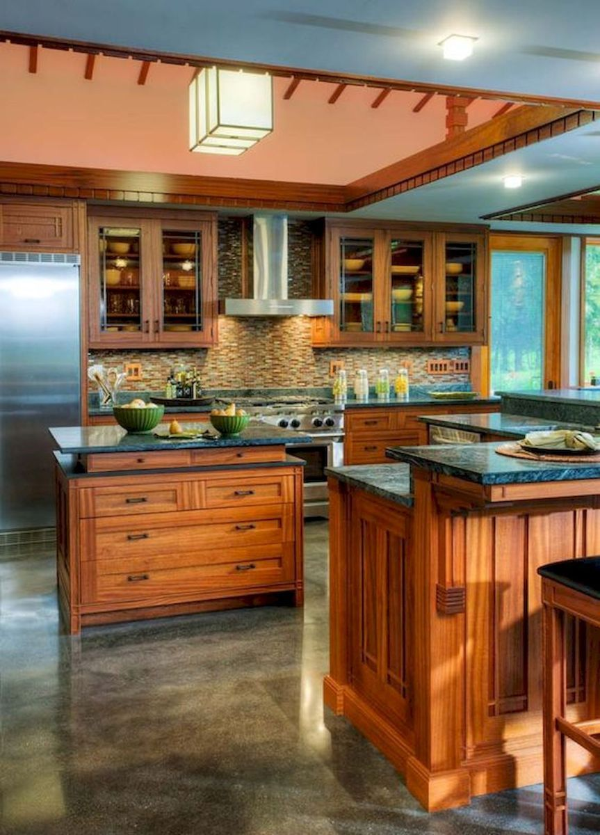 40 Awesome Craftsman Style Kitchen Design Ideas (9 #craftsmanstylehomes
