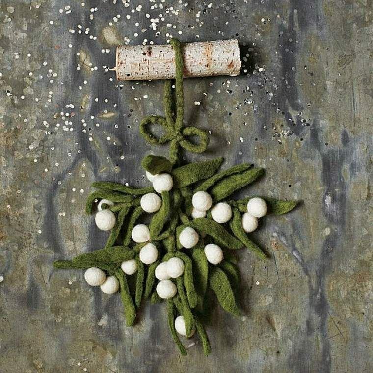 Jolie décoration en laine