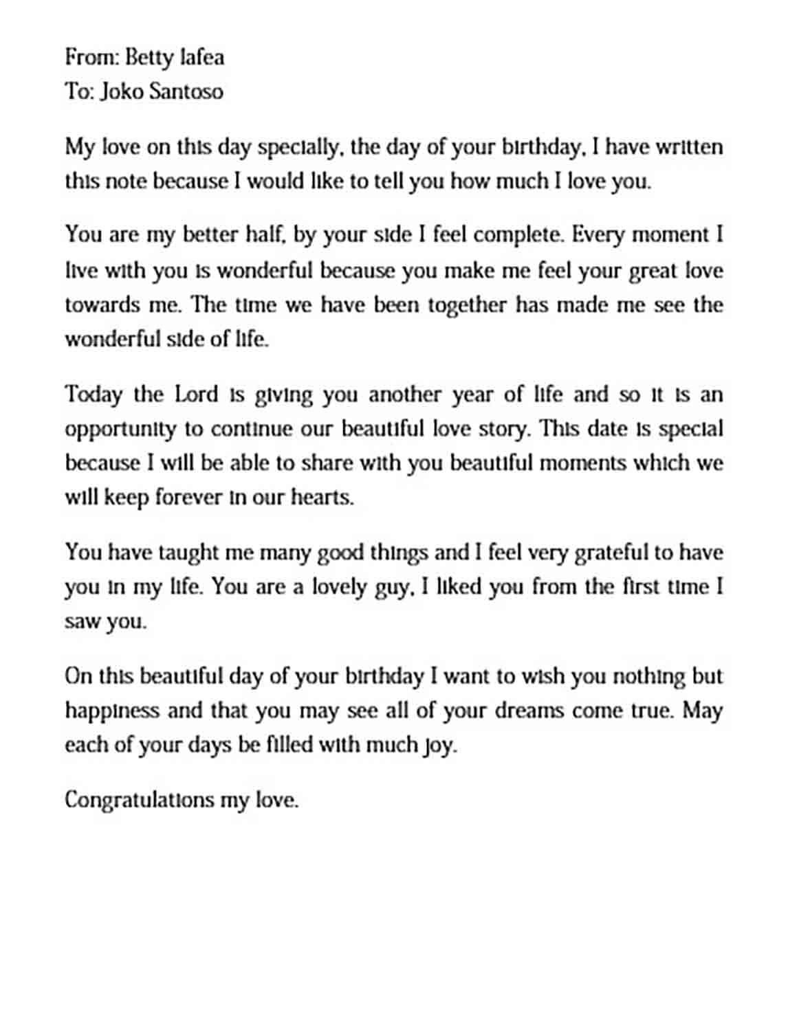 Birthday Love Letter To Boyfriend Templates Letters To Boyfriend Love Letter For Boyfriend Love Letters To Your Boyfriend