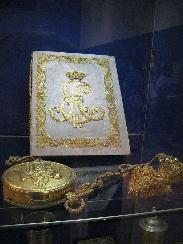 Grigoriy Orlov's letters patent issued by Catherine II creating him an hereditary count.