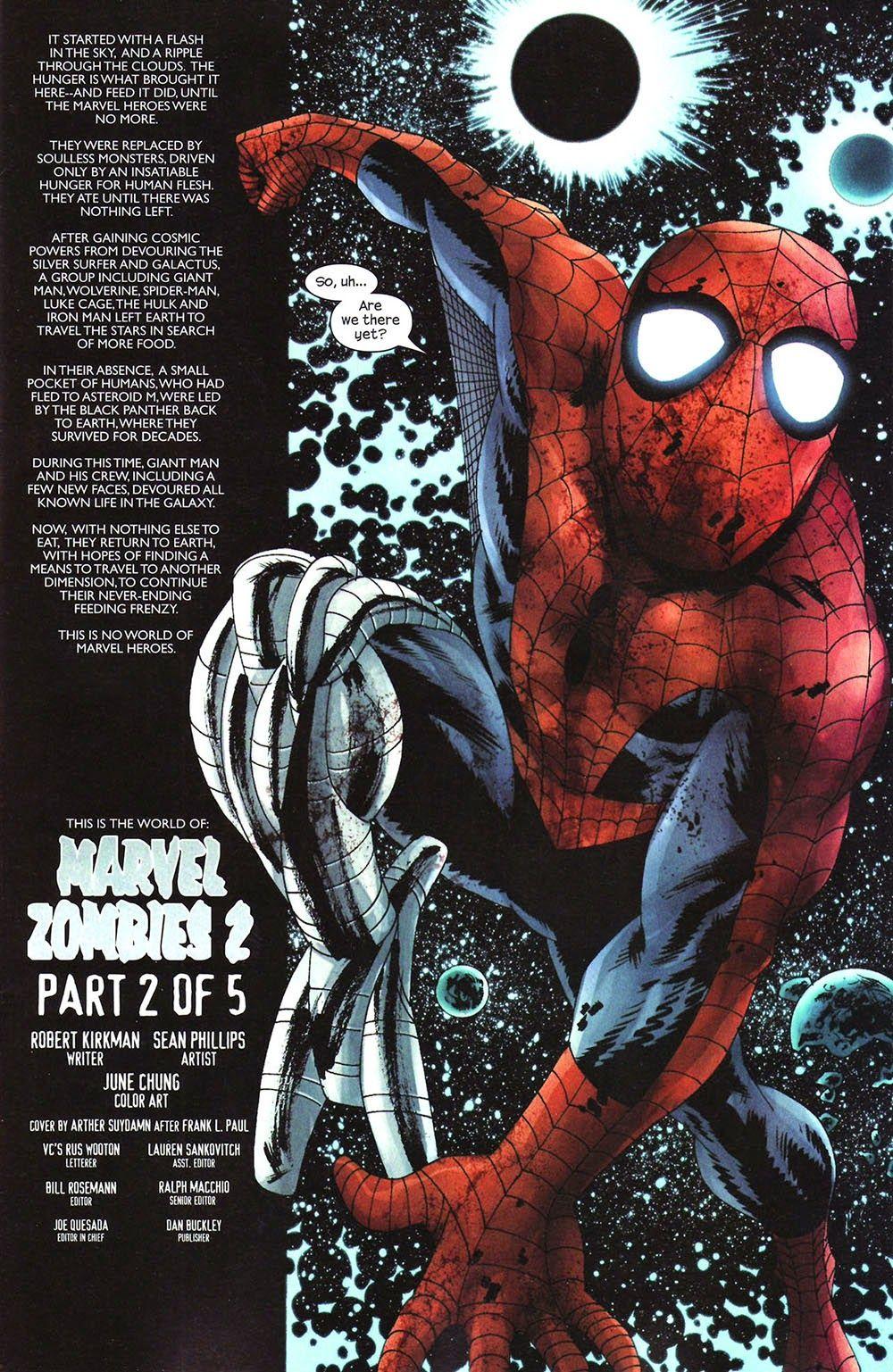 Marvel Zombies Ii 02 Viewcomic Reading Comics Online For Free 2019 In 2021 Marvel Zombies Marvel Marvel Art
