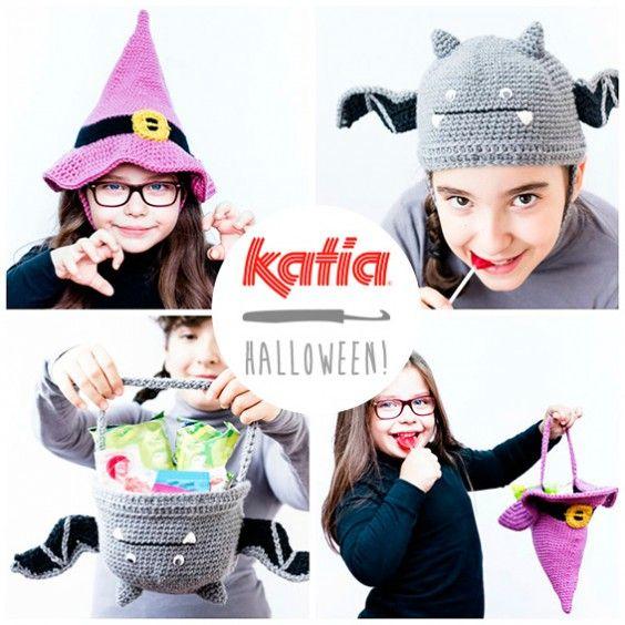 Patrones gratuitos para tejer para Halloween   Gorros- Hat. Cuellos ...