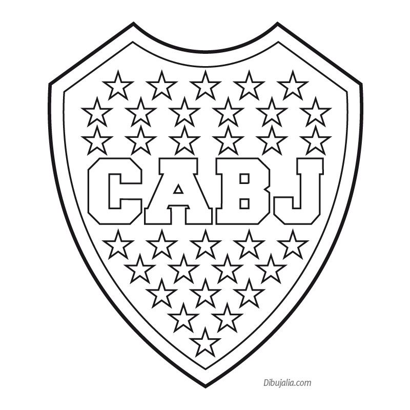 Escudo Boca Juniors … | Tatuaje de boca juniors, Escudo de boca y ...