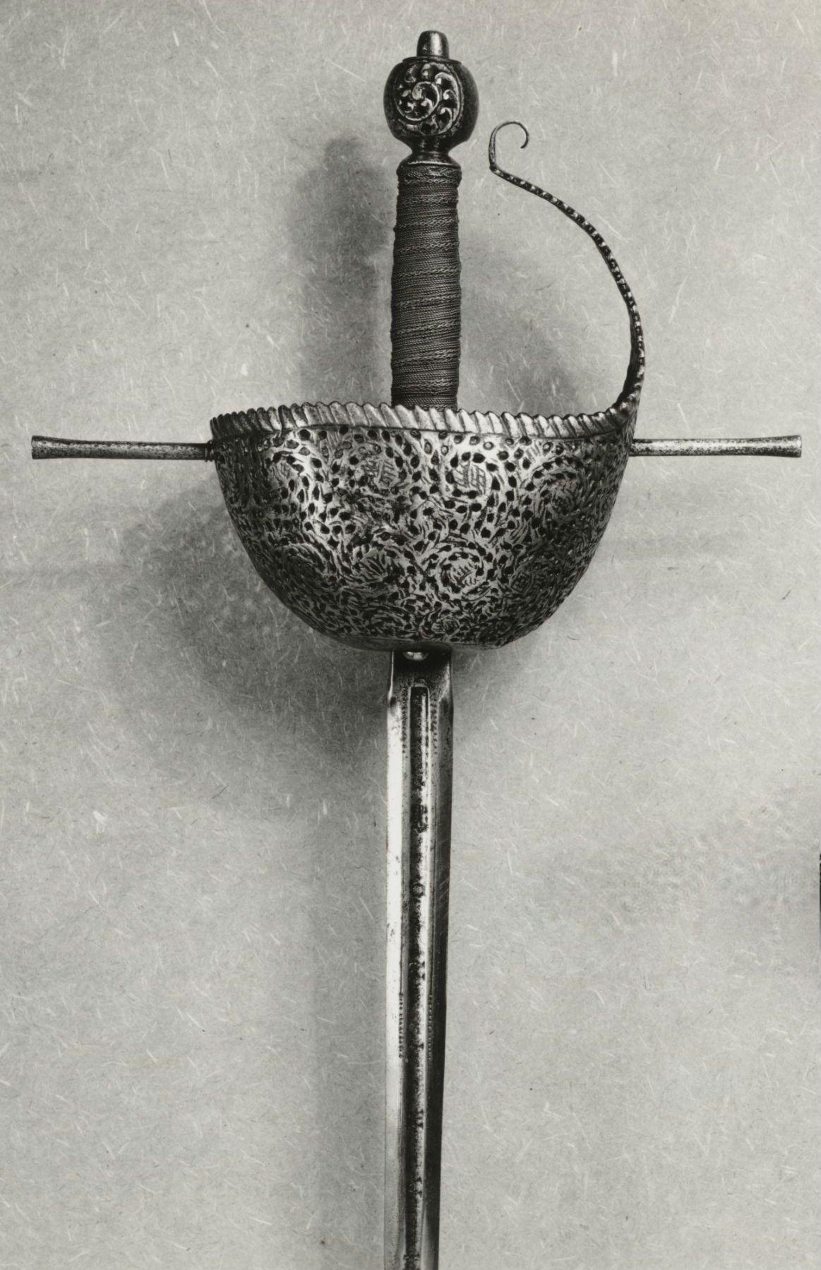 Cup-Hilt Rapier Dated: 1650-1700 Culture: Spanish | Swords ...