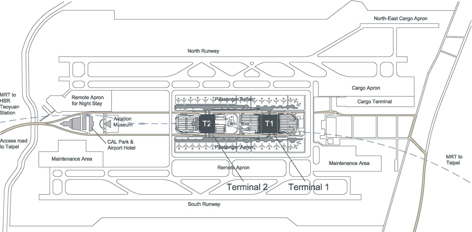 gallery of regeneration of taoyuan international airport terminal site plans gallery of regeneration of taoyuan international airport terminal 1 norihiko dan and associates 11