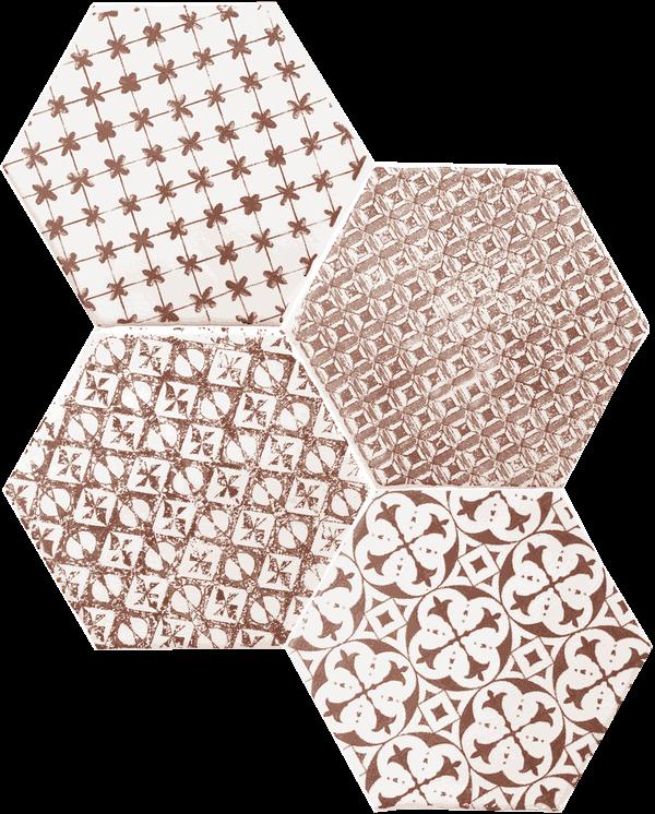 Cevica Marrakech 6 Eck Format 15x15 Cm Sechseck Wandfliesen Fliesen