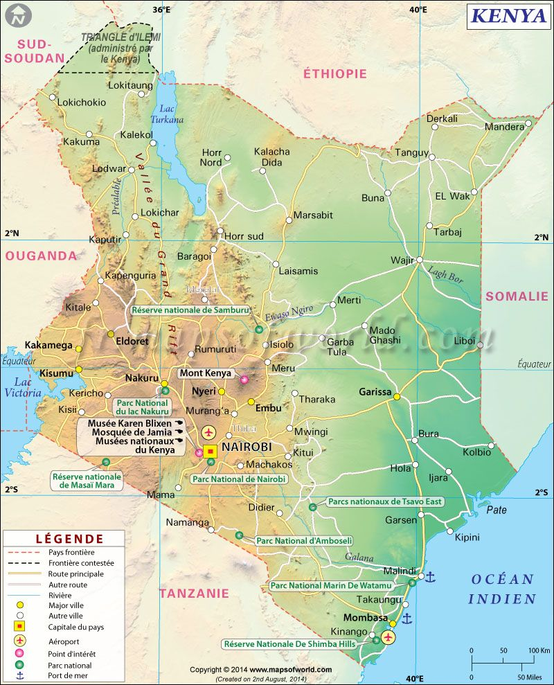 Kenya carte map of kenya carte du monde pinterest kenya kenya on edge before tuesday election gumiabroncs Image collections