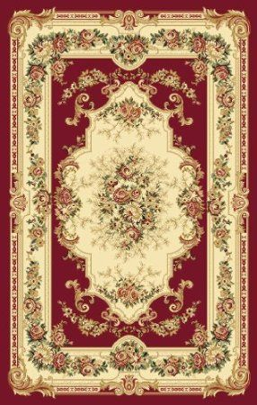 Amazon Com Imperial 2857 Red 9 2x12 6 Area Rug Victorian