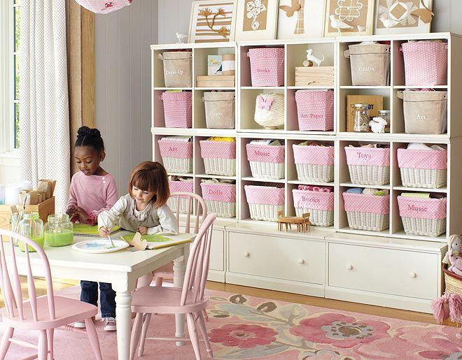Pottery Barn Kids Cameron Wall System · Playroom IdeasPlayroom StorageToy  ...