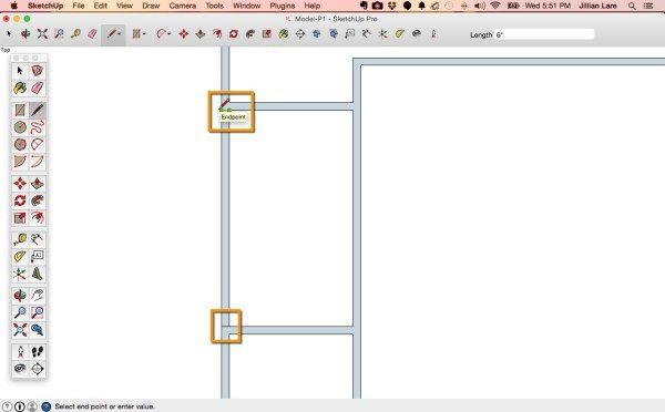 Draw A Floor Plan In Sketchup From Field Measurements Met
