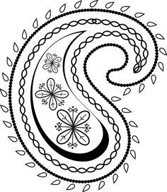 paisley templates google search embroidery pinterest