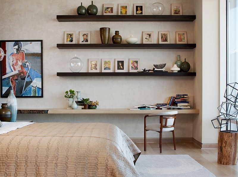 Enjoyable Bedroom Corner Decorating Ideas Photos Tips Shelf Ideas Wall Largest Home Design Picture Inspirations Pitcheantrous