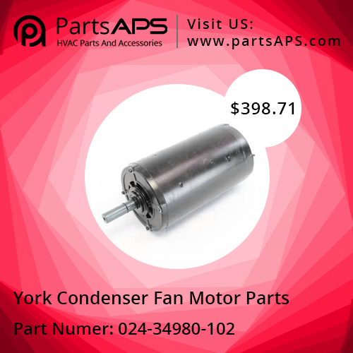 Buy York 02434980 Fan Motor Part at PartsAPS Fan motor