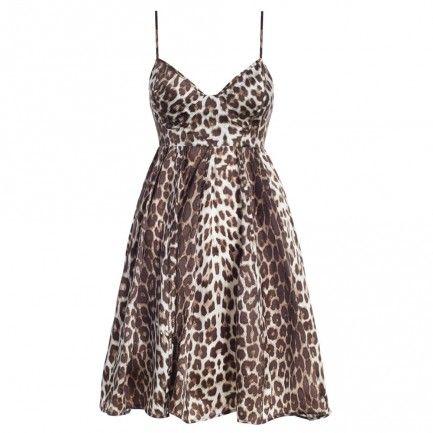 Honour Leopard Umbrella Dress - Dresses - Clothing - Ready To Wear