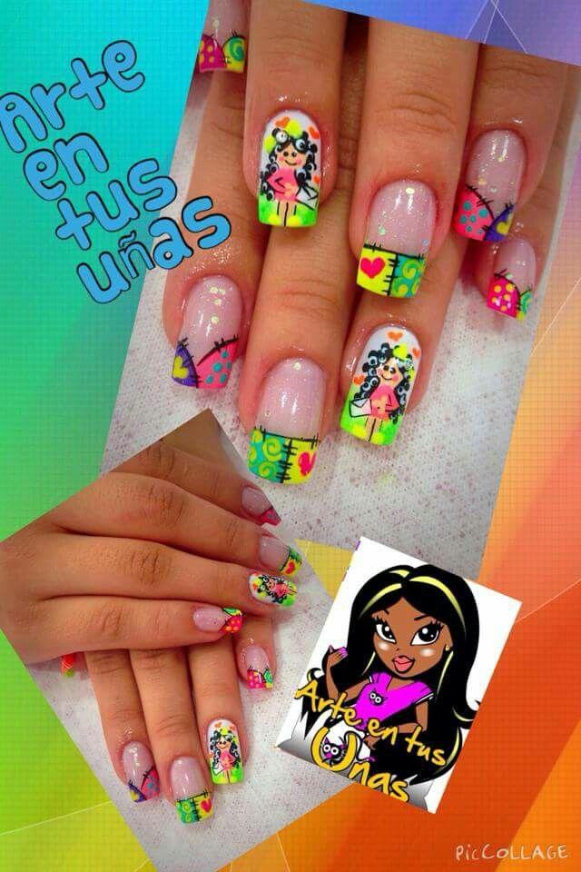 Arte en tus uñas #AndryRegiino | Uñas, Arte de uñas, Uñas ...
