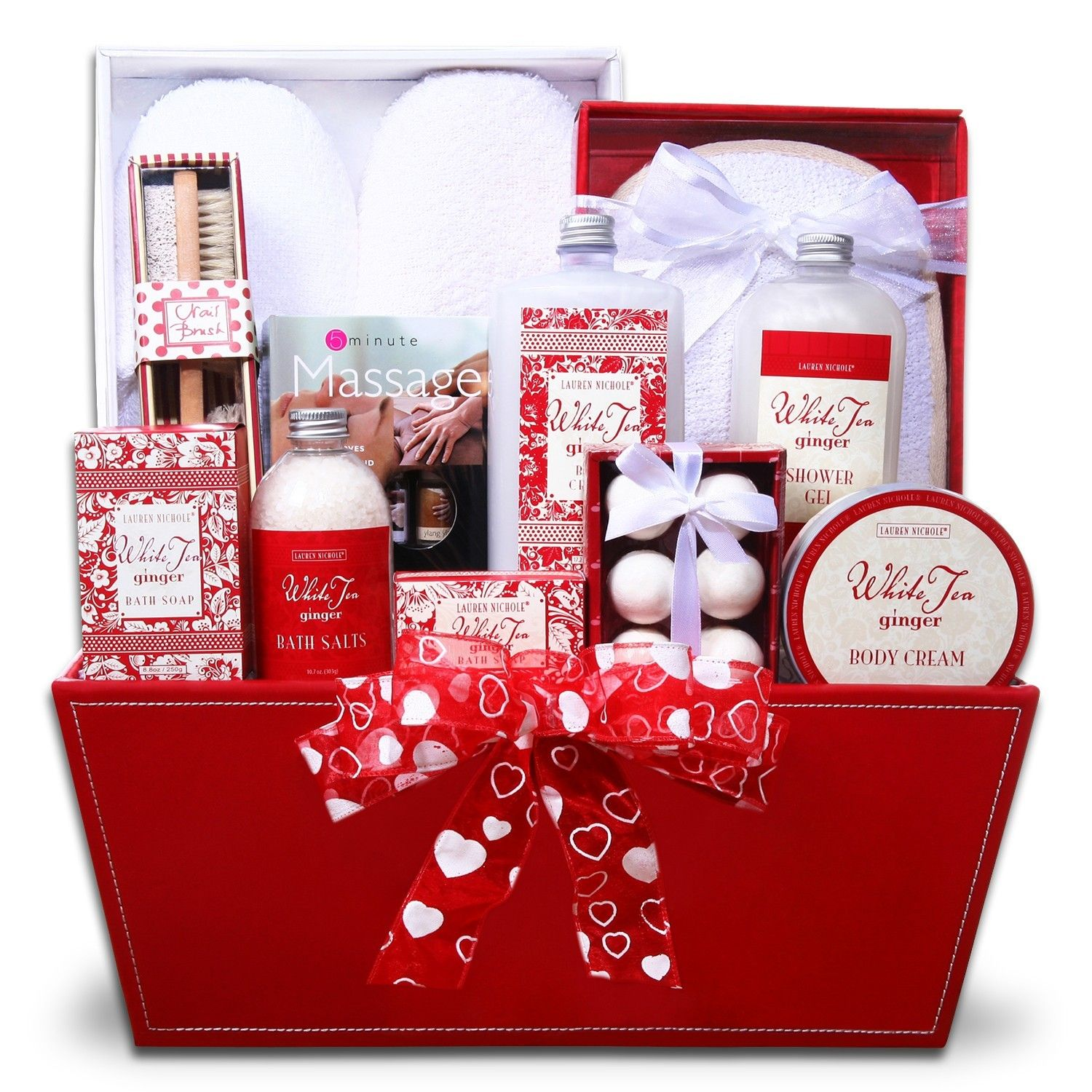 Ultimate Indulgence Spa Gift Basket Aromatherapy Gifts Essential Oils Gifts Gift Sets For Her